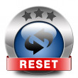 Reset icon — Stock Photo #40361765