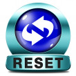 Reset icon — Stock Photo #40361777
