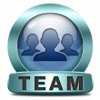 Team icon — Stock Photo