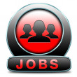 Jobs icon — Stock Photo
