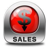 Satış simgesi — Stok fotoğraf