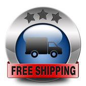 Free shipping — Стоковое фото