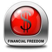 Liberdade financeira — Foto Stock