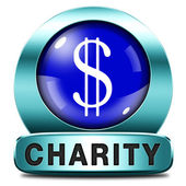 Charity icon — Stock Photo