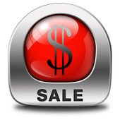 Sales icon — Stock Photo