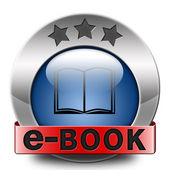Icono de ebook — Foto de Stock