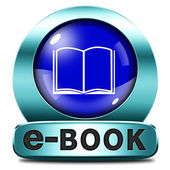 Ebook εικονίδιο — Φωτογραφία Αρχείου