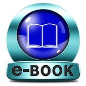 Ebook icon — Stockfoto