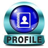 Profile — Stock Photo