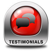 Testimonials — Stock Photo