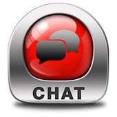 Live chat — Stock Photo