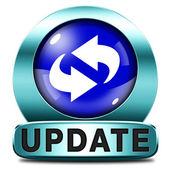 Update icon — Stock Photo