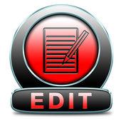 Edit icon — Stock Photo
