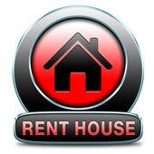 Rent house — Stock Photo