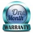 One month warranty — Stock Photo #40561143