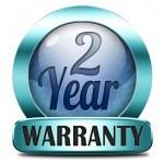Two year warranty — Stock Photo #40561195