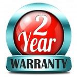 Two year warranty — Stock Photo #40561199