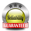Reliability — Stock Photo