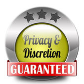 Privacy and discretion — Stock Photo