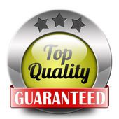 Top quality button — Stock Photo