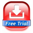 Постер, плакат: Free trial download button