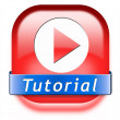Tutorial button — 图库照片 #41716513