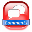 Stock Photo: Comments button