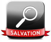 Find salvation — Stock Photo