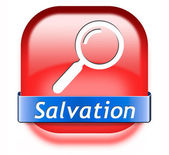 Find salvation — Stock Photo