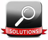 Find solution — Stock Photo