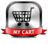 My shopping cart — Foto Stock