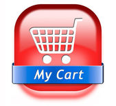 My shopping cart — Stock Photo