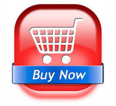 Buy now button — Stockfoto