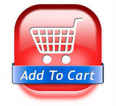Add to shopping cart — Stock Photo