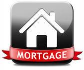 Mortgage button — Foto de Stock