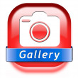 Gallery button — Stock Photo