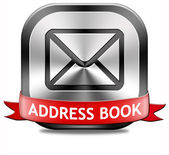 Address book — Stock Photo