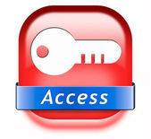 Access button — Stock Photo