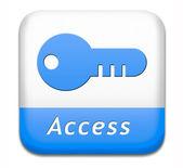 Access button — Стоковое фото