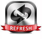 Refresh button — Stock Photo