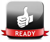 Ready — Stockfoto