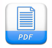 File pdf — Foto Stock