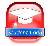 Student loan — 图库照片