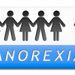 Anorexia — Stock Photo