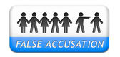 False accusation — Stock Photo