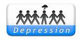 Depresión mental — Foto de Stock
