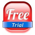 Постер, плакат: Free trial
