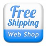 Free shiping web shop — Stock Photo #43287785