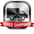 Free shipping package delivery — Stock Photo #43288703