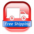 Free shipping package delivery — Stock Photo